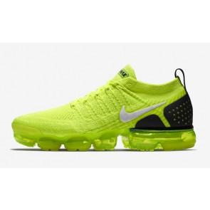 Nike Air Vapormax 2 Flyknit Homme Volt Noir Rabais