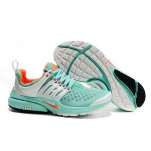 Nike Air Presto Femme Soldes: Chaussures Verte Orange