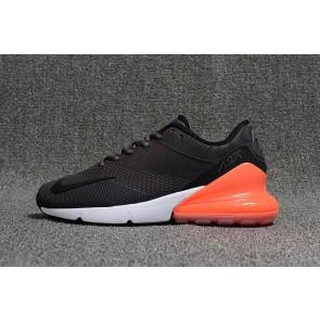 Homme Nike Air Max 270 KPU TPU Noir Orange Hot Punch Soldes