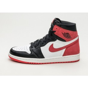 "Homme Nike Air Jordan 1 Retro High OG ""6 Rings"" Blanche Rouge Meilleur Prix"