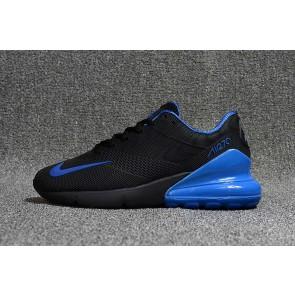 Homme Nike Air Max 270 KPU TPU Noir Bleu Pas Cher