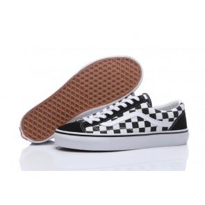 Chaussures Vans Old Skool OG 1977 Style 36 Pas Cher - Noir Blanche