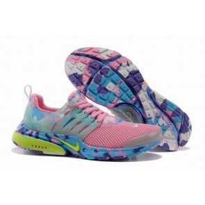 Chaussures Nike Air Presto Femme Rose Camo Soldes
