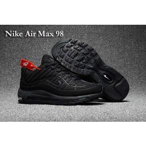 Homme Supreme x Nike Air Max 98 KPU TPU Noir Pas Cher