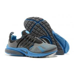 Chaussures Nike Air Presto Homme Grise Bleu Pas Cher