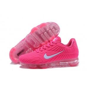 Nike Air Vapormax KPU TPU Femme Rose Blanche Pas Cher