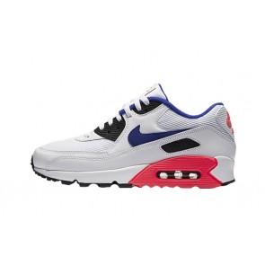 """Homme Nike Air Max 90 """"Ultramarine"""" Blanche Bleu Rabais"""