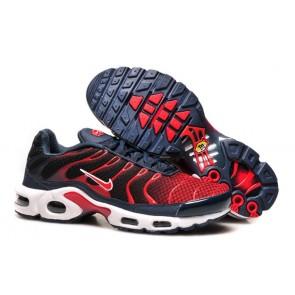 Chaussures Nike Air Max TN Plus Homme Marine Noir Pas Cher