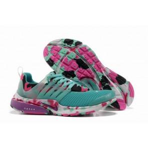 Acheter Chaussures Nike Air Presto Femme Bleu Rose Noir Camo