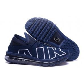 2017 Nike Air Max Flair Soldes, Chaussures Homme, Bleu Blanche