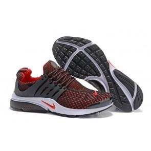 Chaussures Homme Nike Air Presto QS Noir Rouge Vente