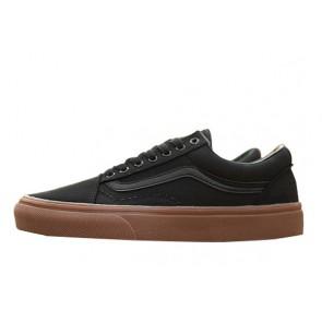 Chaussures Vans Old Skool Noir Gum Soldes