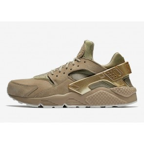 Boutique Nike Air Huarache Metallic Or Coin Khaki Homme