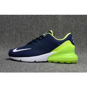 Homme Nike Air Max 270 KPU TPU Bleu Verte Soldes