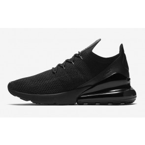 Acheter Homme Nike Air Max 270 Flyknit Triple Black