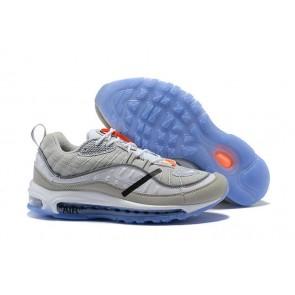Acheter Off-White x Nike Air Max 98 Grise Noir