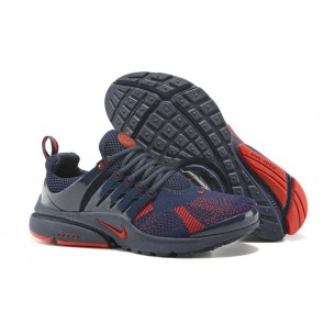 Chaussures Nike Air Presto Homme Bleu Rouge Pas Cher