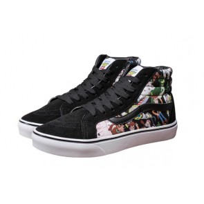 Chaussures Vans Toy Story Noir Pas Cher