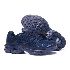 Chaussures Nike Air Max TN Plus Homme Marine Soldes