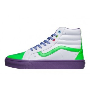 Boutique Chaussures Vans Toy Story SK8 Hi Slim Buzz Lightyear Blanche