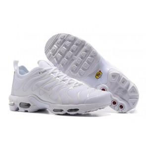 Acheter Chaussures Nike Air Max Plus TN Ultra Blanche Pas Cher