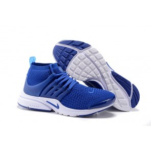 Nike Air Presto Ultra Flyknit High Soldes, Chaussures Homme Bleu