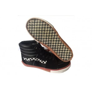Chaussures Vans Sk8 Hi Pro Soldes, Noir Blanche Vans