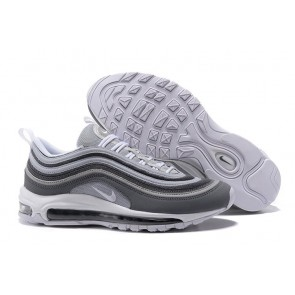 Acheter Homme Nike Air Max 97 Shockproof Carbon Grise Blanche