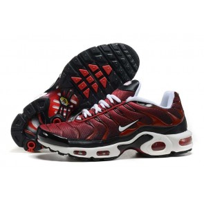 Nike Air Max TN Plus Rouge Blanche Pas Cher - Chaussures Homme