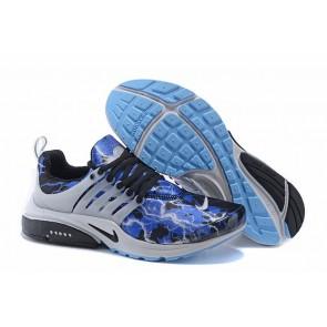 Chaussures Nike Air Presto QS OG Retro Lighting Bleu Print Soldes