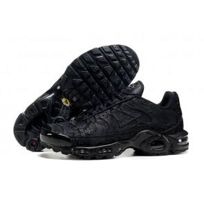 Boutique Chaussures Nike Air Max TN Plus Homme Triple Black Noir