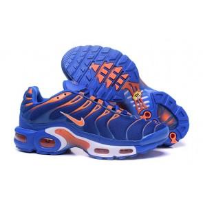 Chaussures Nike Air Max TN Plus Homme Bleu Blanche Pas Cher