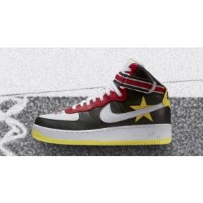 "NikeLab x RT Air Force 1 High ""Victorious Minotaurs"" Homme Noir Rouge Rabais"