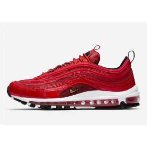 """Boutique Nike Air Max 97 CR7 """"University Rouge"""" Homme Rouge Blanche"""