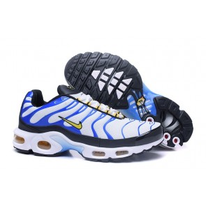 Acheter Chaussures Nike Air Max TN Plus Homme Blanche Bleu