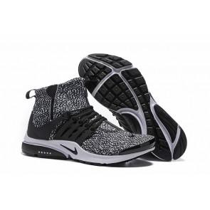 Chaussures Nike Air Presto High Homme Noir Soldes