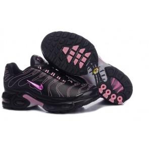 Nike Air Max TN Plus Noir Rose Soldes, Chaussures Femme Air Max