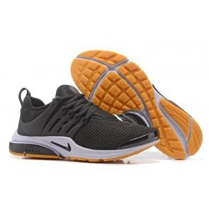 Chaussures Nike Air Presto Noir Jaune Soldes