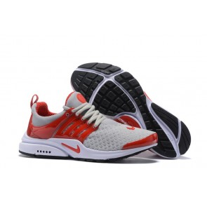 Chaussures Nike Air Presto Essential Pas Cher, Homme, Grise Rouge