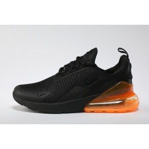 Boutique Nike Air Max 270 Flyknit Noir Orange