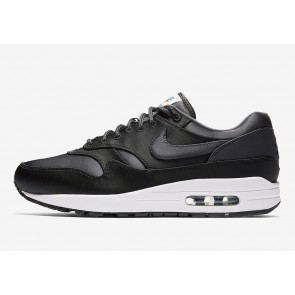 Nike Air Max 1 Satin Pack Homme Noir Blanche Soldes