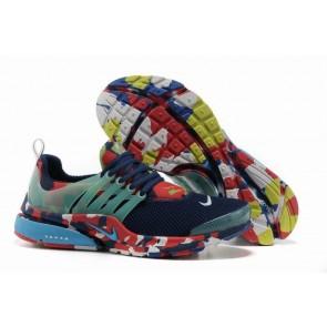 Acheter Chaussures Nike Air Presto Homme Bleu Rouge Camo