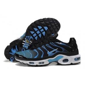 Nike Air Max TN Plus Noir Bleu Soldes, Chaussures Homme
