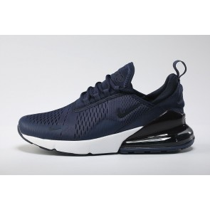 Homme Nike Air Max 270 Flyknit Bleu Blanche Pas Cher
