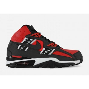 Homme Nike Air Trainer SC High Jogging Speed Rouge Noir Pas Cher