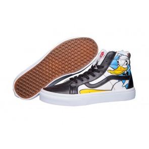 Chaussures Vans Sk8 Hi Reissue Noir Multi Color Soldes