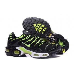Boutique Chaussures Nike Air Max TN Plus Homme Noir Verte