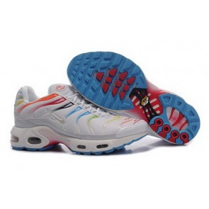 Boutique Chaussures Nike Air Max TN Plus Homme Blanche Multi Color