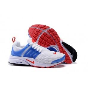 Nike Air Presto Essential Chaussures USA Flag Blanche Bleu Pas Cher