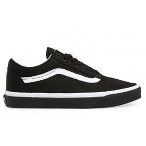 Chaussures Vans Pas Cher - Vans Old Skool Noir Blanche